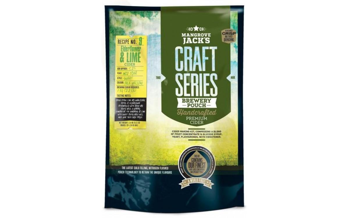 Mangrove Jacks Craft Series Elderflower & Lime Cider Review