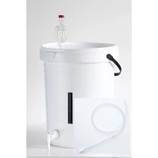 Fermenter - 25L Bucket with Bottle Filler